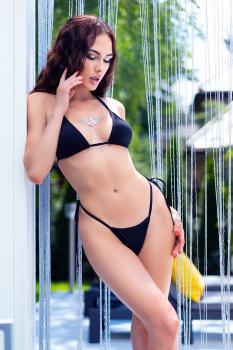 Bikini-Set CR4449 schwarz