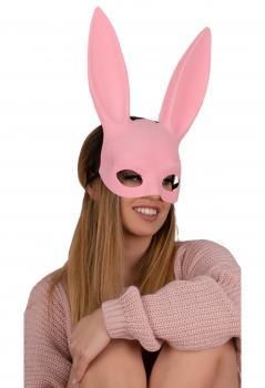 LC Kohu Rabbit mask MJ009 pink O/S