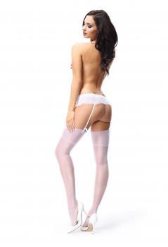 MI S301 stockings white 15den L/XL